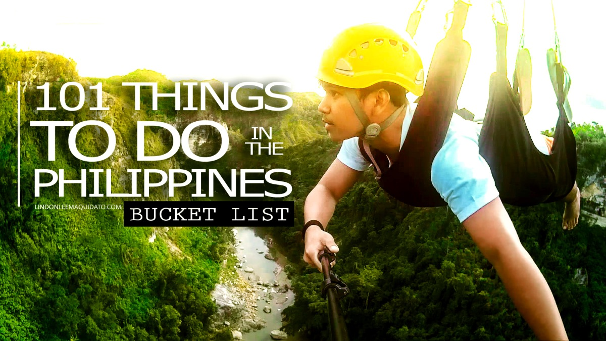 WRITE IT DOWN: Things To Do in The Philippines